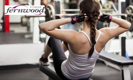 Four-Week Gym Membership for One ($29) or Two People ($55) at Fernwood - Woden (Up to $216 Value)