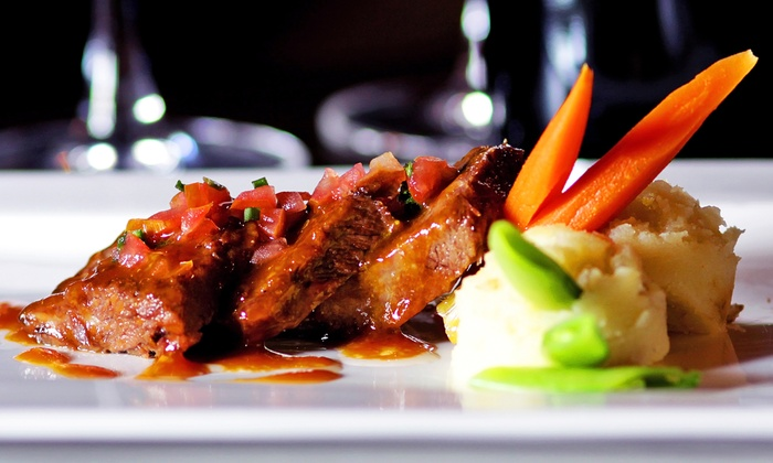 Mosset Grille & Wine Bar - Sugar Land: Four-Course Dinner for Two or Four at Mosset Grille & Wine Bar (Up to 44% Off)