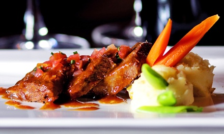 Four-Course Dinner for Two or Four at Mosset Grille & Wine Bar (Up to 44% Off)