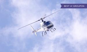 "Aveo Flight Academy: 30 Min. Helikopterflug ""Industrie-Kultur-Route"" für 1 Person bei Aveo Flight Academy (45% sparen*)"