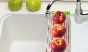 Stainless Steel Folding Sink Drying Rack