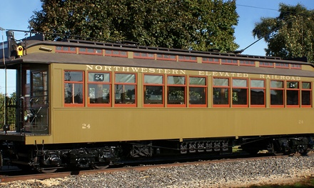 Admission for One, Two, or Four to the Illinois Railway Museum (Up to 48% Off)