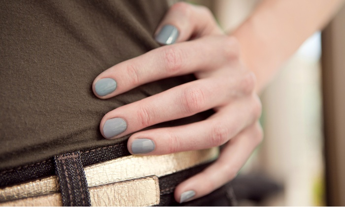 Visions Hair Studio - Saddle Brook: One or Three Gel Manicures at Visions Hair Studio (Up to 54% Off)