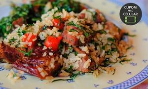 Ba Guá Restaurante: Ba Guá – Chapada dos Guimarães: almoço para até 3 ou 5 pessoas em qualquer dia da semana