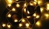 Globrite LED Star String Lights