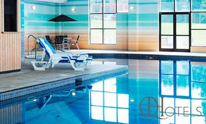 Spa Access with Towel Hire, Hot Beverage and Pastry for Two at 4* Stratford Manor (53% Off)