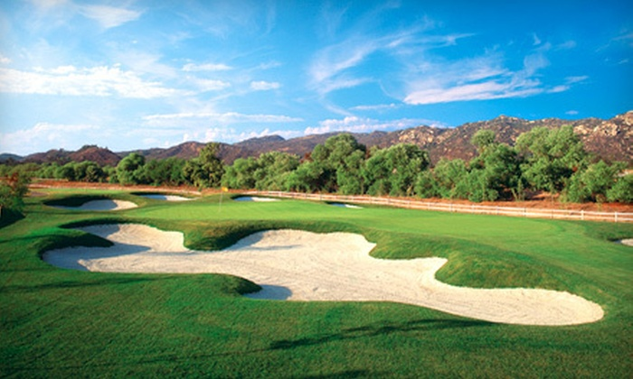 Reidy Creek Golf Course - North Broadway: 18 Holes of Golf for Two or Five Rounds for One at JC Golf's Reidy Creek Golf Course in Escondido (Up to 51% Off)