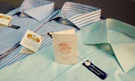 2 camicie o un abito da uomo Made in Italy