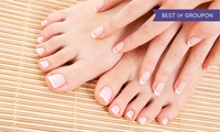 Mani-Pedi, Couples Massage, or One-Hour Massage or Facial at Solaire Hair Studio and Spa (Up to 50% Off)