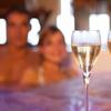 Spa privatif pour 2, champagne en option