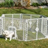 6-Panel Exercise Play Pen for Pets
