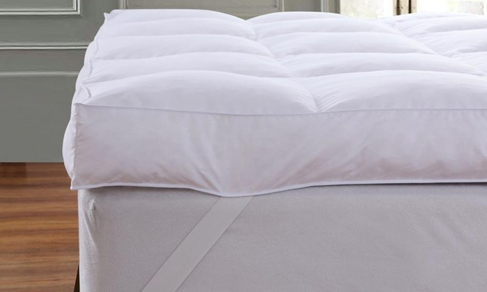 Extra-Deep 12.5cm Dickens Goose Feather Mattress Topper for £24.98