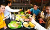 99 Favor Taste - Flushing - Downtown Flushing: Hot Pot and BBQ Buffet Lunch for Two or Four at 99 Favor Taste (Up to 51% Off)