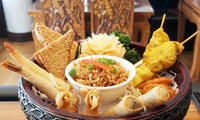 Thai Shared Platter and Cocktails for Two or Four at KinKao (Up to 48% Off)