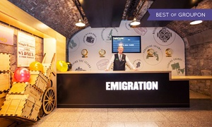 EPIC Ireland: EPIC Ireland Visitor Experience and Museum at EPIC Ireland (Up to 47% Off)
