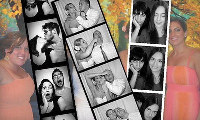 Marx Entertainment - Springfield, MA: $395 for a Four-Hour Photo-Booth Rental with Props and CD of Images from Marx Entertainment ($895 Value)