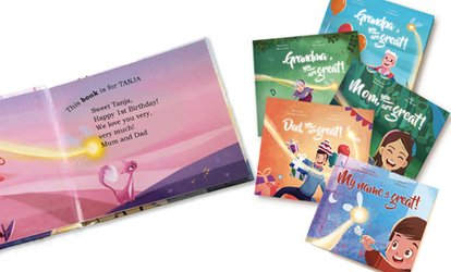 image for Up to 10 Personalised Kids Storybooks from Story of My Name (Up to 68% Off)