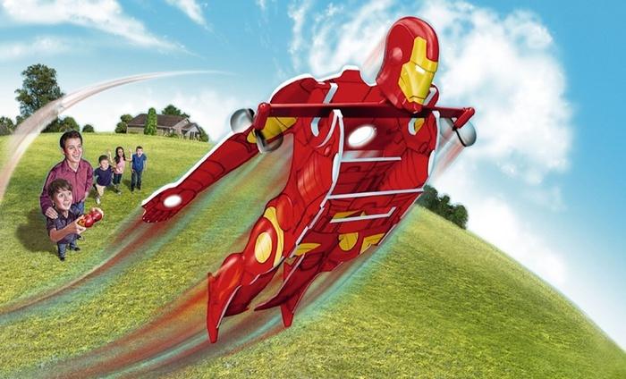 Remote-Control Iron Man Extreme Hero Flyer: Iron Man Extreme Hero Remote-Controlled Flyer