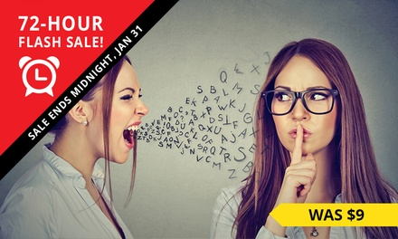 Emotional Intelligence Online Course: One $7 or FourCourse Bundle $29 Don't Pay up to $579
