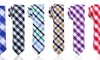 2 In. Plaid Skinny Ties: 2 In. Plaid Skinny Ties. Multiple Colors Available. Free Returns.