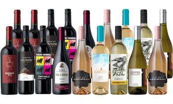 75% Off 18-Bottle Wine Pack from Splash Wines