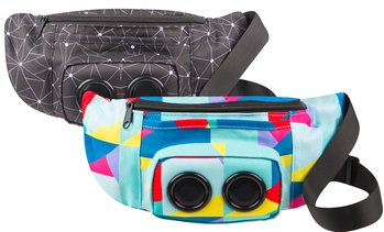 Vivitar BPK-BLCK-TA Bluetooth Speaker in Fanny Pack