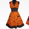 58% Off Women's and Children's Scared-y Cat Halloween Aprons