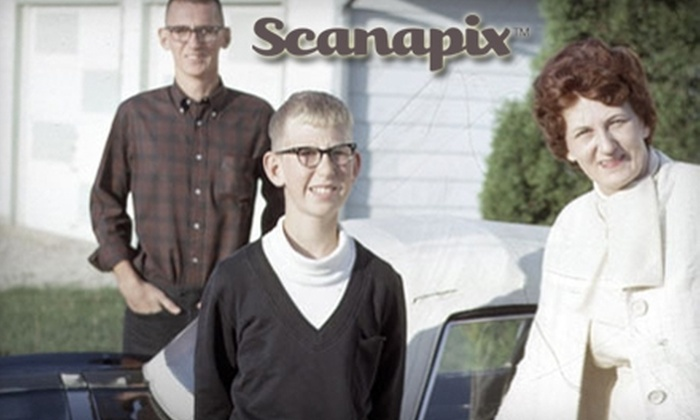 Scanapix: $20 for $50 Worth of Photo Scanning from Scanapix