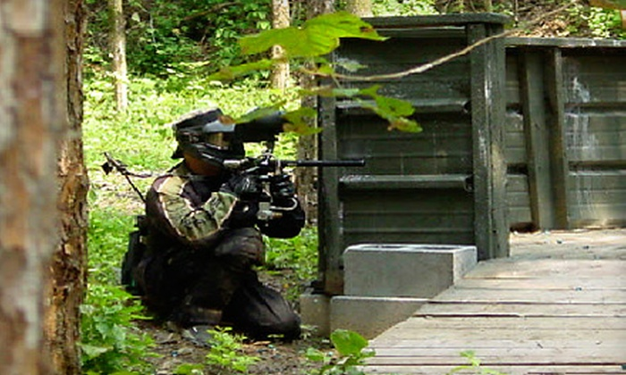 WarPlay Paintball - War Play Paintball: All-Day Paintball Outing with Gear and Ammo for Two or Four at WarPlay Paintball in Rhoadesville