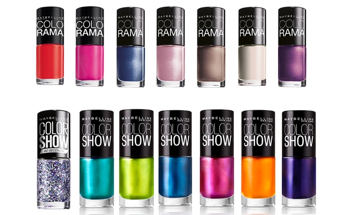 Maybelline Assorted Nail Polishes | Groupon Goods