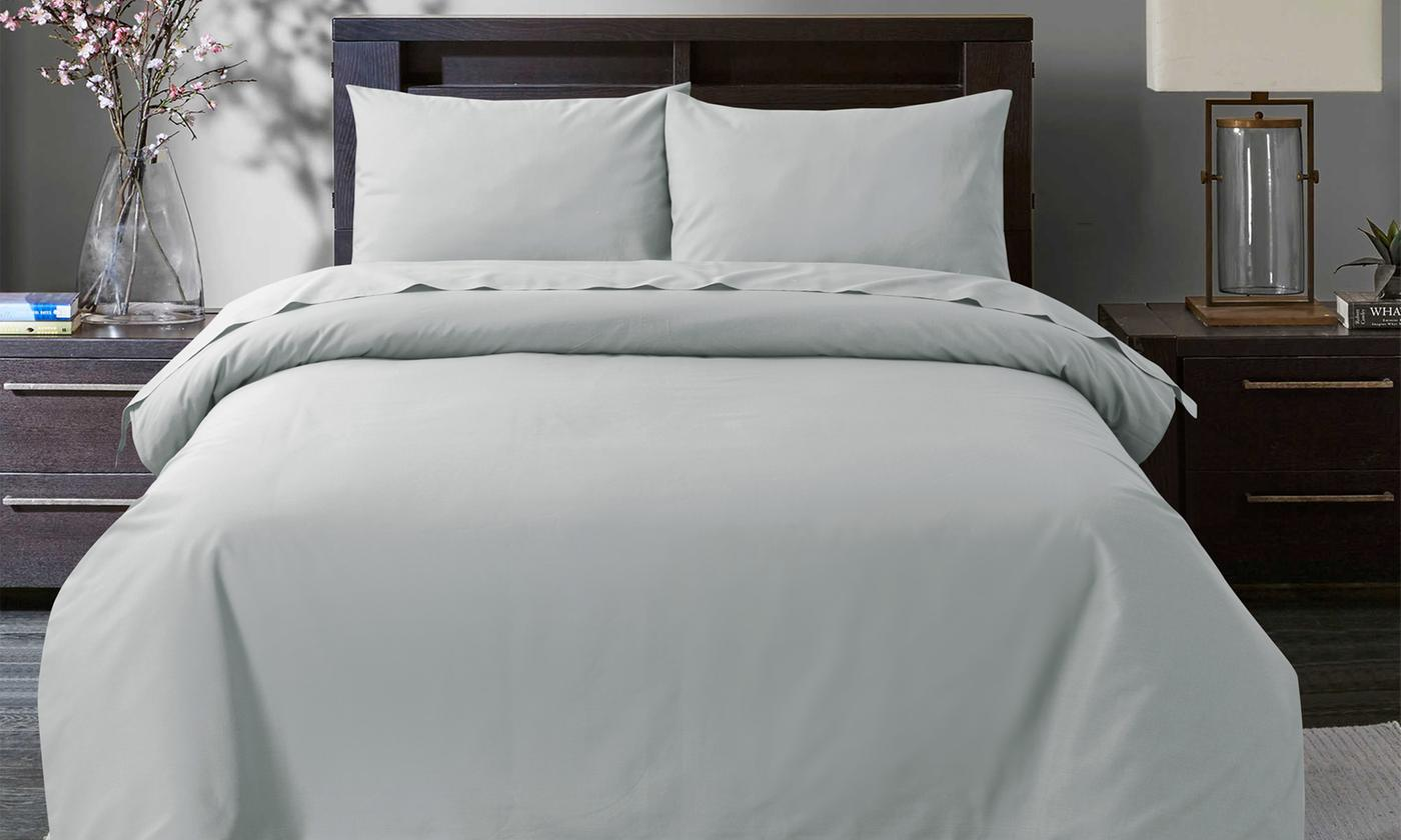 Pieridae 200TC Egyptian Cotton Duvet Cover Set for £9.98