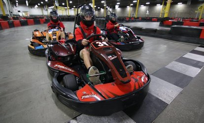 Up to 35% Off Go-Karting at Full Throttle Indoor Karting