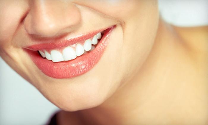 Rivercrest Family Dental and Sonrisa Dental - Multiple Locations: Dental Packages at Rivercrest Family Dental and Sonrisa Dental (Up to 81% Off). Two Options Available.