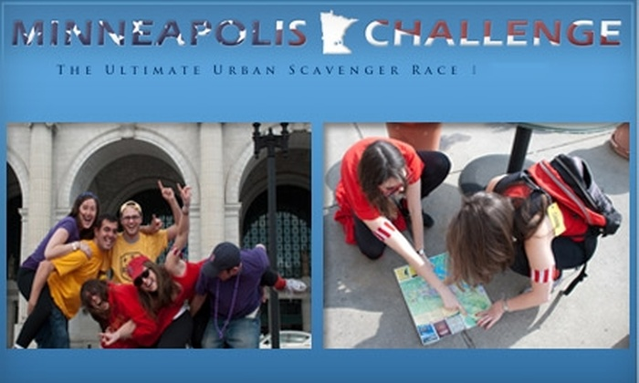 Minneapolis Challenge - Warehouse District: $25 to Participate in the Urban Adventure Scavenger Hunt on August 22 ($70 Value)