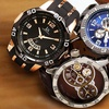 Men's Joshua & Son's Multi-Function Sport Watch Collection
