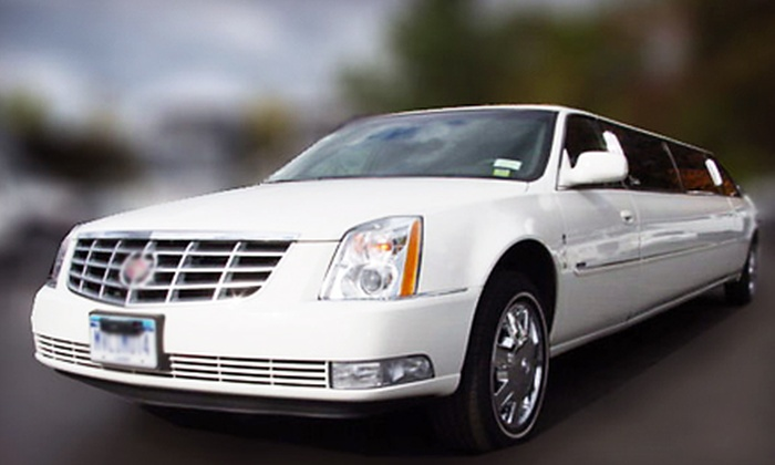 M&V Limousines Ltd. - Multiple Locations: $199 for Five Hours in Standard Limo for up to 10 People from M&V Limousines Ltd ($500 Value). Exotic Limo or Seven-Hour City or Vineyard Tour Upgrades Available.