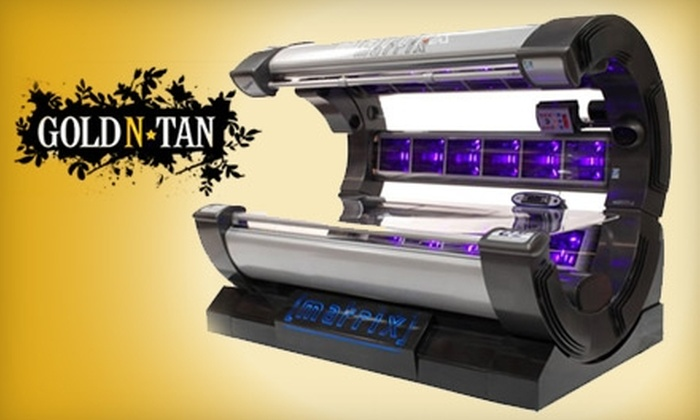 Gold'N Tan - Summerlea: $20 For One Month of Unlimited Tanning and One Spray Tan (a $183.75 value) at GOLD'N TAN