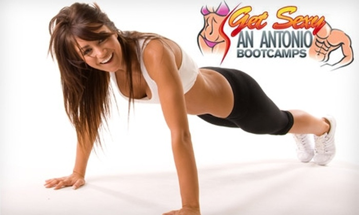 Get Sexy San Antonio Bootcamps - Multiple Locations: $20 for One Month of Unlimited Fitness Boot-Camp Sessions at Get Sexy San Antonio Bootcamps ($247 Value)