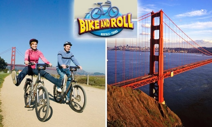 Bike and Roll - Russian Hill: $22 for Three-Hour Bay Area Bike Tour ($45 Value)