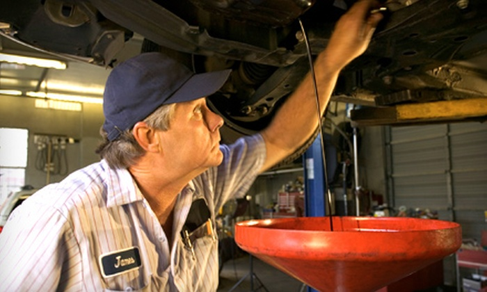 Mr. Tire - Multiple Locations: $13 for an Oil Change and Tire Rotation at Mr. Tire (Up to $30 Value)