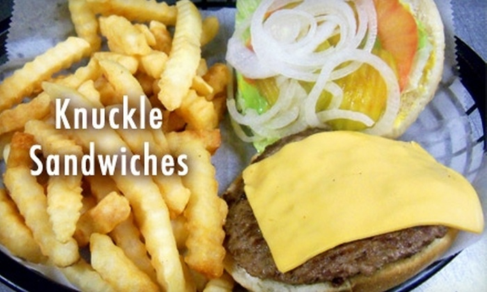 Knuckle Sandwiches - Arlington: $5 for $10 Worth of Breakfast and Lunch at Knuckle Sandwiches