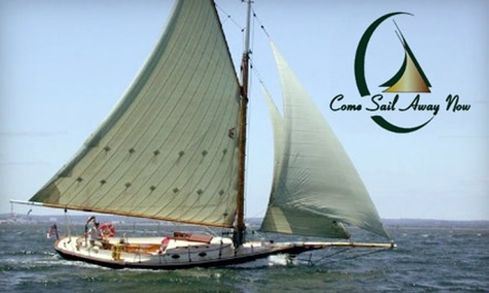 Come Sail Away Now - Charlestown: $115 for a Sailing Lesson from Come Sail Away Now ($225 Value)