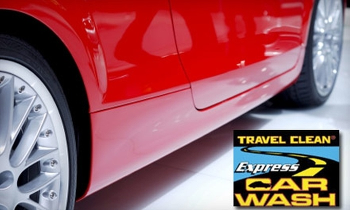 Travel Clean Express - Lee's Summit: $20 for $40 Worth of Washes at Travel Clean Express Car Wash