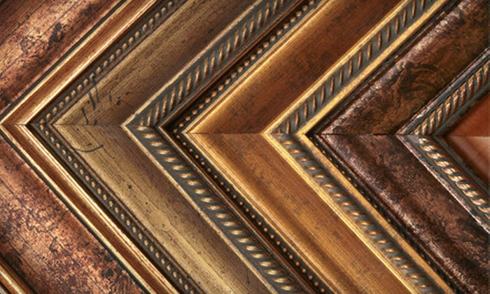 Plaza Artist Materials & Picture Framing - Downtown Nashville: $40 for $100 Worth of Custom Framing at Plaza Artist Materials & Picture Framing