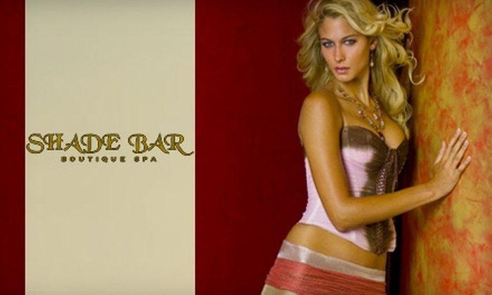 Shade Bar Boutique Spa - Ditmars Steinway: $25 for an Organic Spray Tan at Shade Bar Boutique Spa