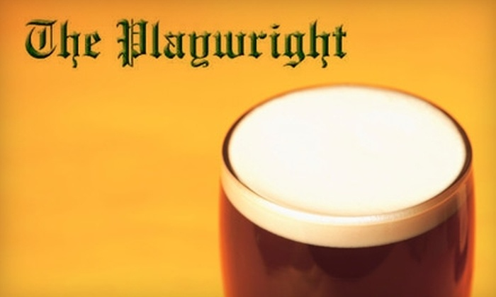 The Playwright - Flamingo / Lummus: $15 for $30 Worth of Pints and Pub Fare at The Playwright Irish Pub and Restaurant in South Beach