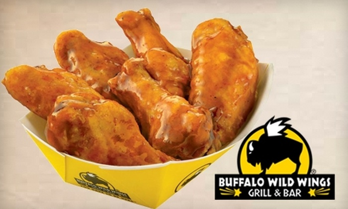 Buffalo Wild Wings - Multiple Locations: $5 for $10 of Wings, Burgers, Wraps and More at Buffalo Wild Wings