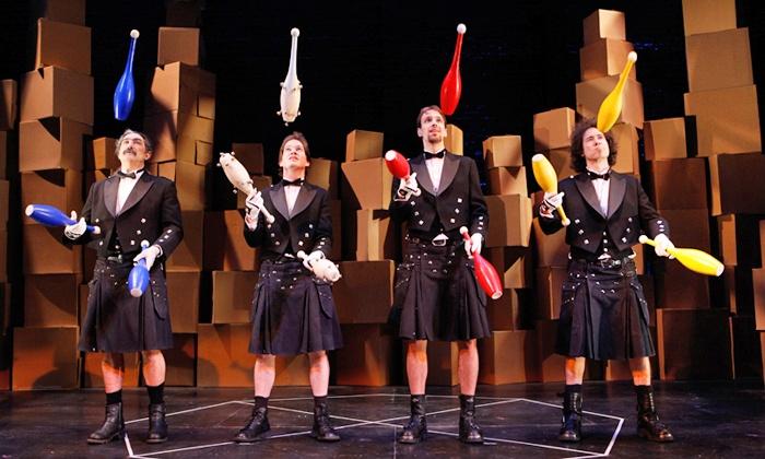 The Flying Karamazov Brothers - Carolina Theatre: The Flying Karamazov Brothers at Carolina Theatre on Saturday, February 28 (Up to 47% Off)