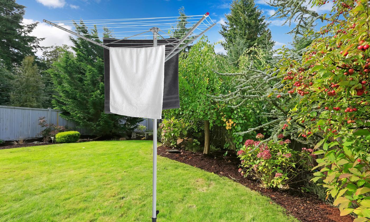 Kleeneze KL064356EU Rotary Outdoor Clothes Airer