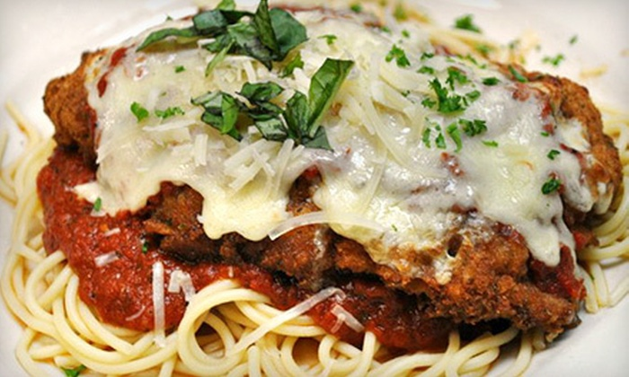 Iacofano's - Mount Pleasant: Italian Dinner for Two or Four at Iacofano's (Up to 52% Off)